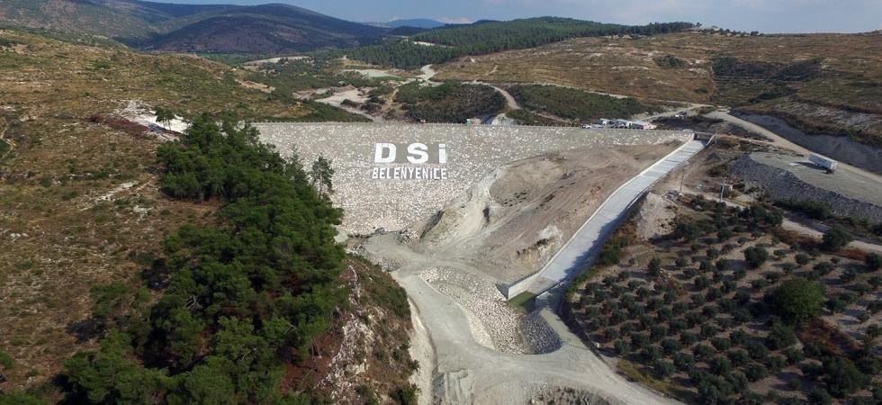 Belenyenice Barajında yıl sonunda su tutulmaya başlanacak