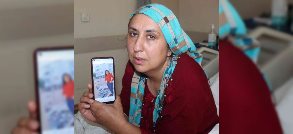Çaresiz anne hasta yatağında kayıp kızını arıyor