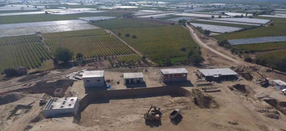 Sarıgöl ATT inşaat çalışmaları hızla devam ediyor