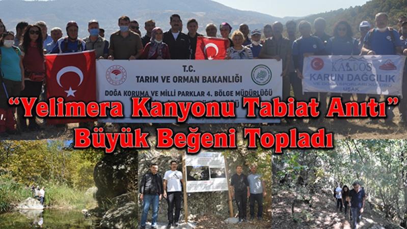 """""""Yelimera Kanyonu Tabiat Anıtı"""" Büyük Beğeni Topladı"""
