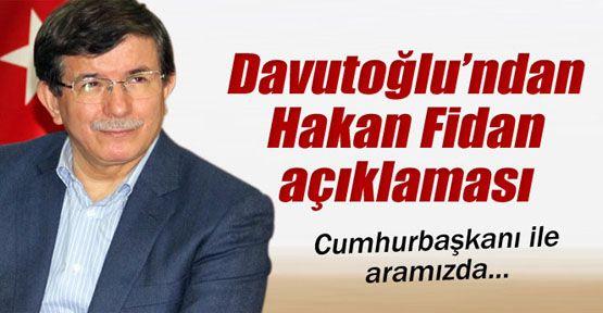 Ahmet Davutoğlu'ndan Hakan Fidan açıklaması