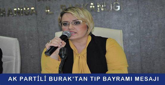 AK Partili Burak'tan Tıp Bayramı Mesajı