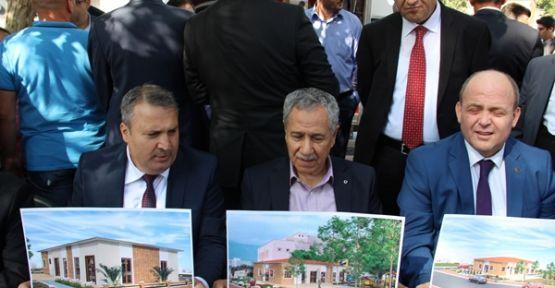 Arınç Yunusemre ' de taziye evi açtı