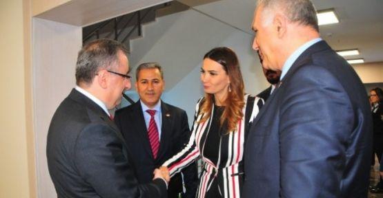 Azeri Soydaşlarımızdan Büyükşehir'e Ziyaret