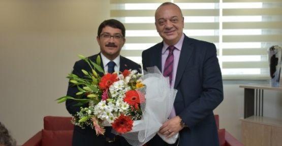 Başkan Çelik'ten Başkan Ergün'e İade-I Ziyaret