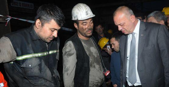 Başkan Ergün Madenciler Gününü Kutladı