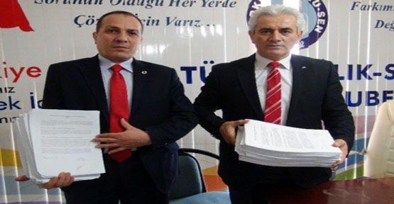 Beş Bin İmza Ankara'ya