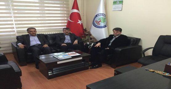 Bozoğlu Sendika Genel Başkanlarını Ziyaret Etti