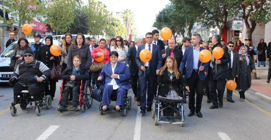 Engellilerden Sessiz Yürüyüş