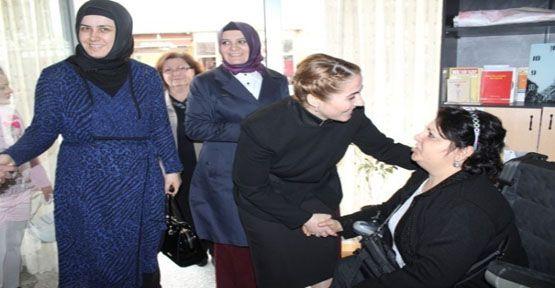 Güzide İçen Kasap Engelli Vatandaşlarla Buluştu