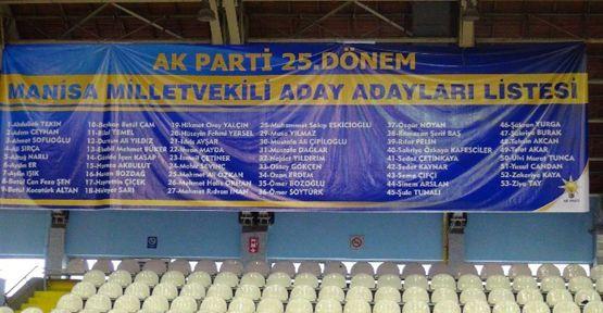 Manisa AK Parti'de Temayül Yoklaması Heyecanı