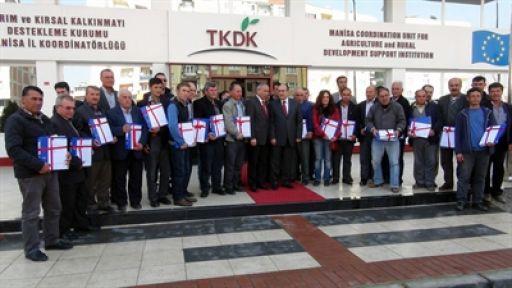 Manisa Tkdk 29 Proje Sahibiyle Sözleşme İmzaladı