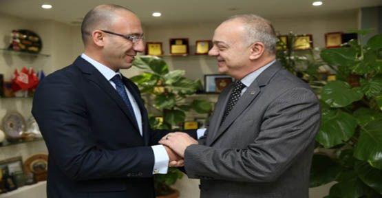 Özbayram'dan Başkan Ergün'e Ziyaret
