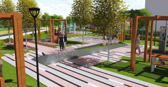 Özcan Akçiçek Parkı Büyükşehirle Değişiyor