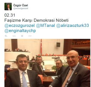 """ÖZEL """"FAŞİZME KARŞI DEMOKRASİ NÖBETİMİZ DEVAM EDİYOR"""""""