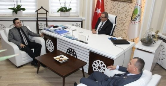 Taydaş'tan Başkan Karaçoban'a Teşekkür