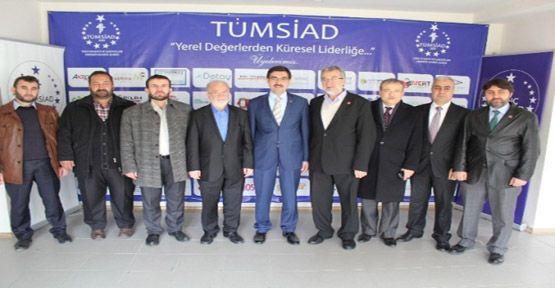 Tekin Magiad Ve Tümsiad'ı Ziyaret Etti