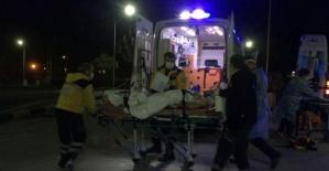 Define ararken kazdıkları alan patladı: 1 ağır yaralı