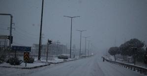 İzmir-Ankara D300 karayolunda trafiğe...