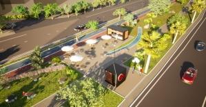 Kaldırılan demir yolu arazisine Türkiye'nin en uzun koşu ve bisiklet yolu yapılacak