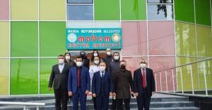 Manisa Büyükşehir'den ilçelerdeki eğitim birimlerine ziyaret