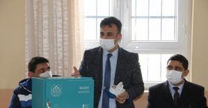 Ozanca'da MASKİ'nin yeni nesil mekanik sayaçları anlatıldı
