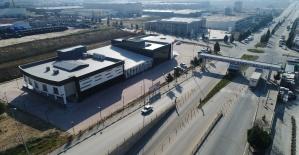 Salihli OSB, prefabrik binadan modern...