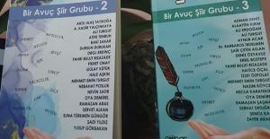 Bir Avuç Şiir Grubunun Şiir Antoloji Kitabı raflarda yerini aldı..