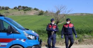 Jandarma ekipleri yaralı baykuşu sahipsiz bırakmadı