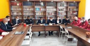 Alaşehirli şehit anısına kütüphane...