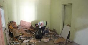 Belediye Pasajı Ramazan Bayramı öncesinde temizlendi