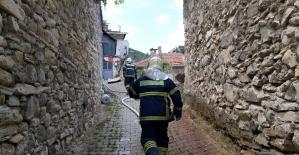 Tarihi Darkalede yangın tatbikatı