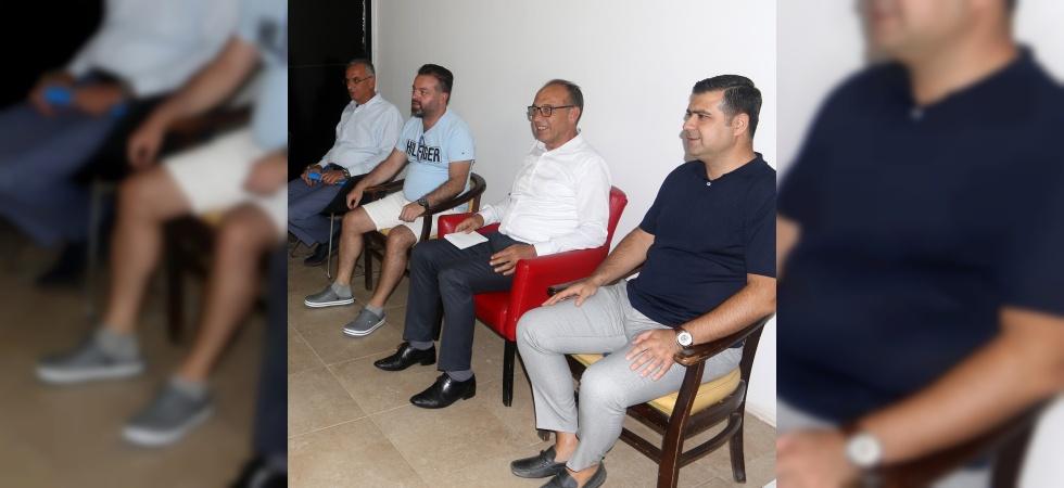 Başkan Akın'dan Turgutluspor'a moral ziyareti