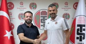 Turgutluspor'da yeni teknik direktör Kazım Akgün imzayı attı