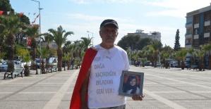 11 yıl önce PKK tarafından kaçırılan kızı için Ankara'ya yürüyor