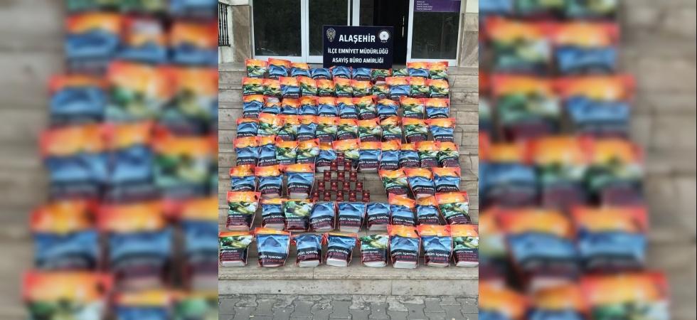 Manisa'da kaçak tütün operasyonu