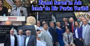 Ziynet Sertel'in Adı İzmir'de Bir Parka Verildi