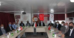 Kızılay koordinasyon toplantısı Salihli'de...