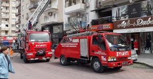 Manisa'da Baca Yangını Korkuttu