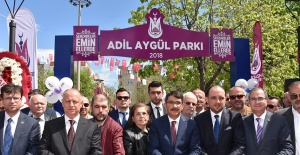 Adil Aygül Parkı Açıldı