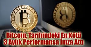 Bitcoin, Tarihindeki En Kötü 3 Aylık Performansa İmza Attı