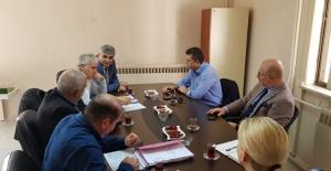 Bakanlıktan Manisa Büyükşehir Belediyesine çalışma ziyareti
