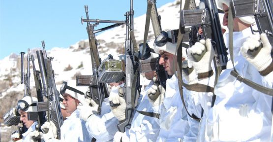 TSK, -18 derecede bölücü teröristlere kabus oldu
