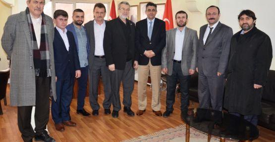 TÜMSİAD'tan MHP'ye Ziyaret