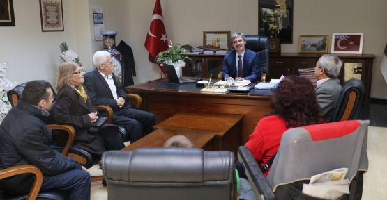 Uluslararası Engelliler Derneği'nden Başkan Şirin'e Teşekkür