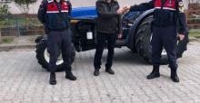 Manisa'dan çalınan traktör Şanlıurfa'da bulundu