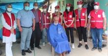 Alaşehir'de Kızılay ihtiyaç sahibi vatandaşların tıraşını yaptı