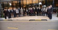 Vali Karadeniz İl Sağlık Müdürü Yemenici'nin veda yemeğine katıldı