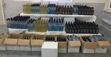 Manisa'da kaçak içki operasyonu