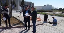 Salihli OSB'de alt yapı çalışmaları devam ediyor